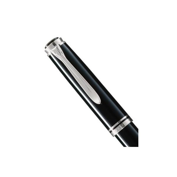 stylo plume noir or
